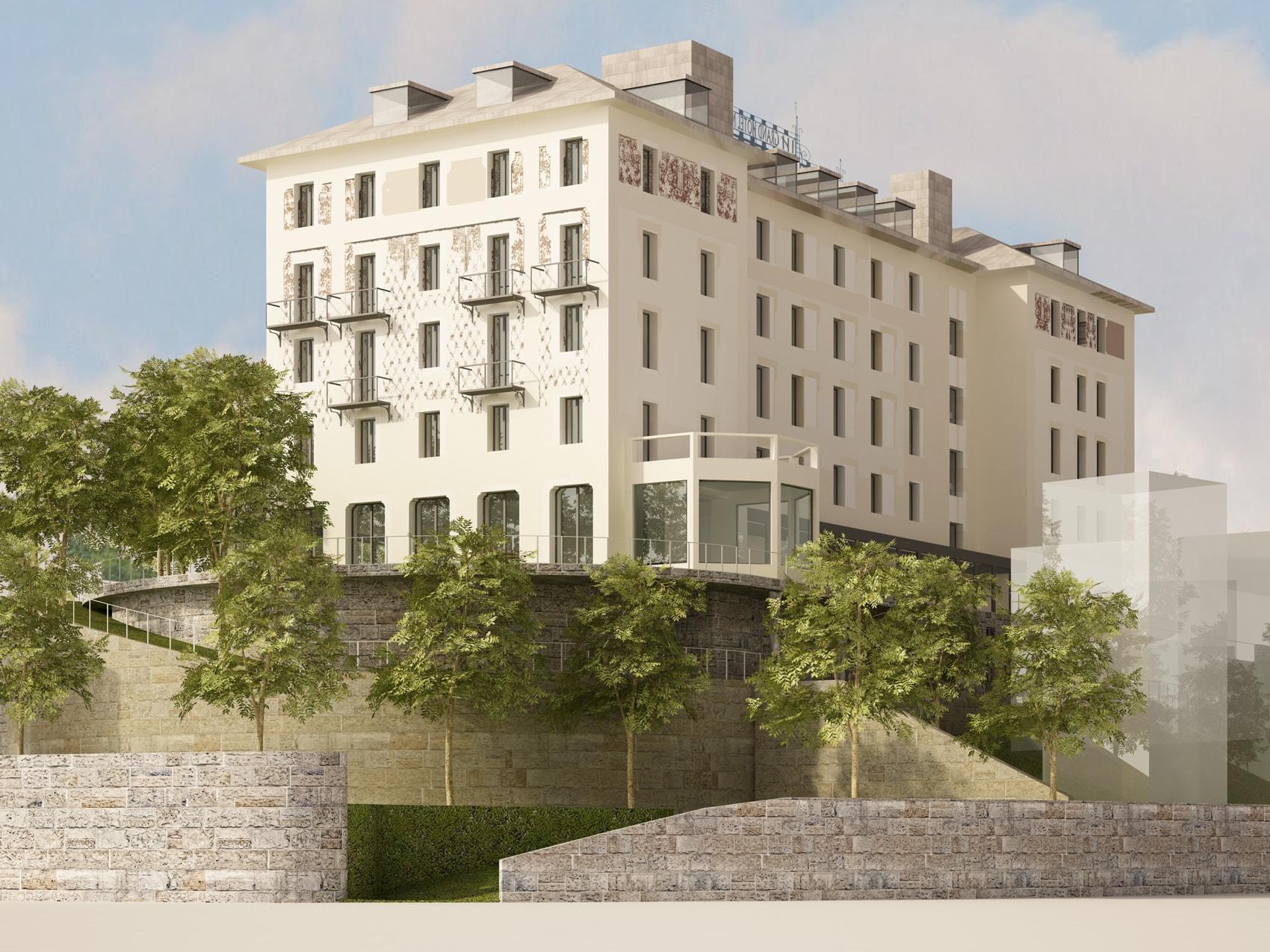 Ipostudio architetti for Grand hotel milano